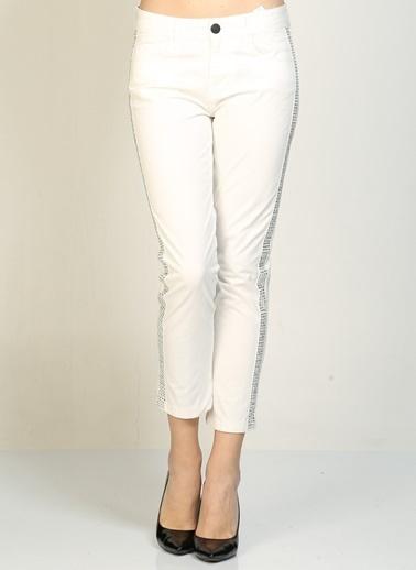 Beymen Studio Pantolon Beyaz